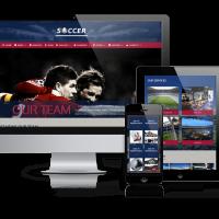 admin Wordpress Theme: Soccer - Football WordPress Theme