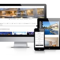 Joomla Premium Template - HomeTown - Real  Estate Joomla Template