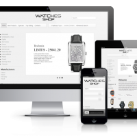 OrdaSoft Joomla Template: OS Watches shop