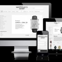 admin Joomla Template: OS Watches shop