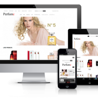 OrdaSoft Joomla Template: OS Perfume shop
