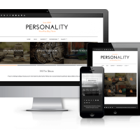 Wordpress Premium Theme - Personality - WordPress Personal Blog Theme