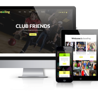 OrdaSoft Wordpress Theme: Bowling - Free WordPressTheme