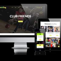 admin Wordpress Theme: Bowling - Free WordPressTheme