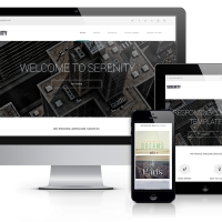Wordpress Premium Theme - Serenity - Wordpress  Business and Portfolio theme