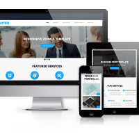 Joomla Premium Template - Rapture - Joomla Business Template