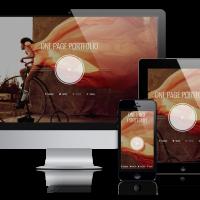 admin Wordpress Theme: Photographer - Wordpress  One Page Theme