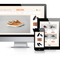 OrdaSoft Joomla Template: Shoe Store - VirtueMart 3 template