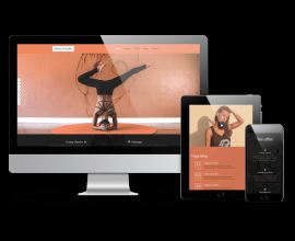 OrdaSoft Joomla Template: Yoga Studio - Joomla sport template