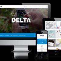 OrdaSoft Joomla Template: OS Delta - premium Joomla template for creative folks