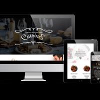 admin Wordpress Theme: Cuisine WordPress restaurant theme