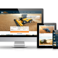 Joomla Premium Template - Farm Machinery - Agriculture Joomla Template