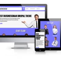 OrdaSoft Drupal Theme: Businessman - Free Corporate  Drupal theme
