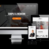 OrdaSoft Joomla Template: BizOne - Joomla One-page Template