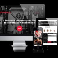 OrdaSoft Joomla Template: GymHall - Joomla sport template