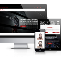 Drupal Premium Theme - KingRing - Boxing  Website Template