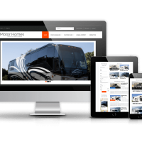 Joomla Premium Template - Motorhomes - Joomla Car Dealer template