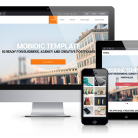 OrdaSoft Joomla Template: Mobidic