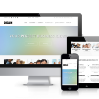 Joomla Premium Template - Cocain - For Business and Agencies