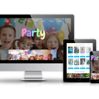 OrdaSoft Joomla Template: Party - Joomla Kids template