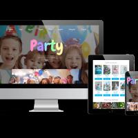 admin Joomla Template: Party - Joomla Kids template