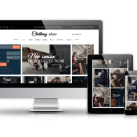 Joomla Premium Template - Clothing Store - Joomla Virtuemart template