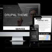 OrdaSoft Drupal Theme: Master - Free Drupal Responsive Theme
