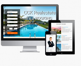 admin Joomla Template: CCK RealEstate Booking