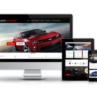 OrdaSoft Joomla Template: Auto Dealership - Car Joomla Template