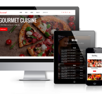 Wordpress Premium Theme - Gourmet - WordPress Restaurant Theme