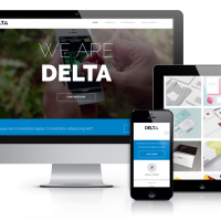 Wordpress Free Theme - Delta - Free Wordpress  Blog Theme