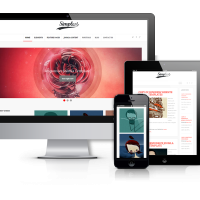 Joomla Premium Template - Simplest - Joomla  Blog Template