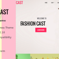 Wordpress Premium Theme - Fashion Cast - WooCommerce  WordPress Theme