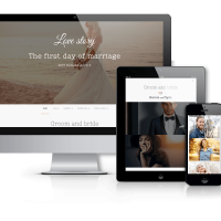 Joomla Premium Template - Love Story - Joomla  Wedding Template