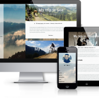 OrdaSoft Joomla Template: Traveler - Modern Joomla Blog Template