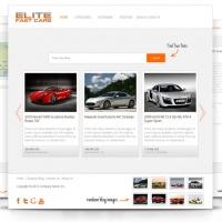 admin Joomla Template: OS Elite Cars