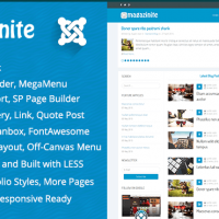 Joomla Premium Template - TM Magazinite - Blog and Magazine Joomla Template