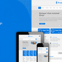 Joomla Premium Template - TM Bloggite - Responsive Business Joomla Template