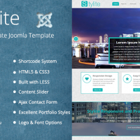 Templatemesh Joomla Template: TM Stylite - Responsive Joomla Template