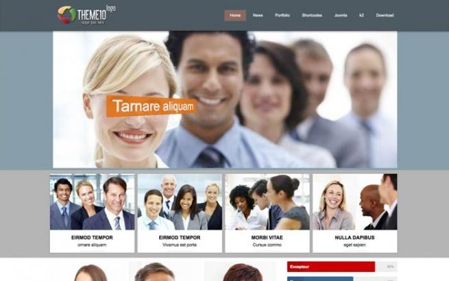 Joomla Template: Tc_theme10 - free