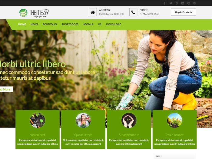 Joomla Template: Tc_theme39