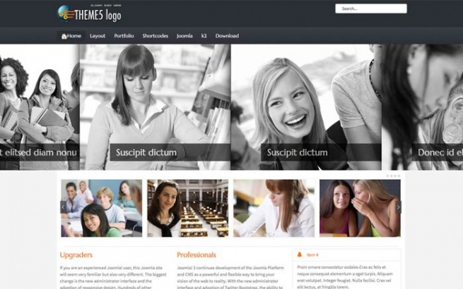 Joomla Template: Tc_theme5