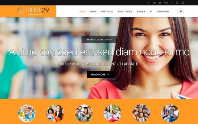 Joomla Template: Tc_theme29