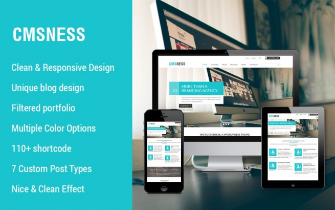 Wordpress Theme: Wordpress business theme