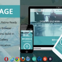 Wordpress Premium Theme - One page wordpress theme