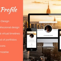 Wordpress Premium Theme - Profile wordpress theme