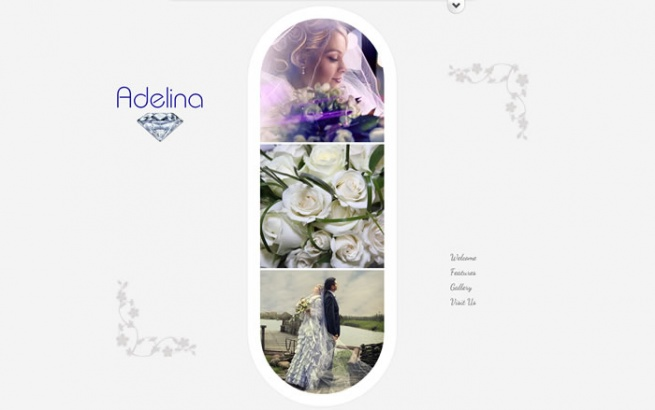 Joomla Template: Adelina - Responsive Unique Template
