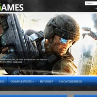 John Smith Wordpress Theme: WarGame