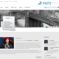 John Smith Wordpress Theme: PhotoPaper