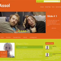 John Smith Wordpress Theme: Assol